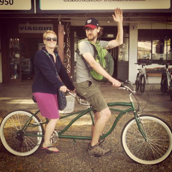 Tandem Bike 1